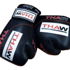 Manusi box ThaW - Ultra*Piele artificiala*Negru*16 oz - Accesorii box