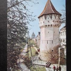 RPR - Sibiu - Carte Postala Transilvania dupa 1918, Circulata, Printata