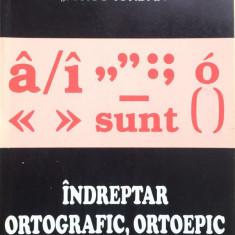 INDREPTAR ORTOGRAFIC, ORTOEPIC SI DE PUNCTUATIE - Dictionar