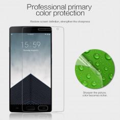 Folie OnePlus 2 Transparenta by Nillkin - Folie de protectie OnePlus, Lucioasa
