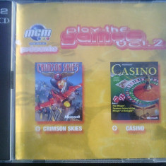 Joc pc Crimson skies si Microsoft Casino (distribuite oficial in carcasa), 16+, Multiplayer, Microsoft Game Studios