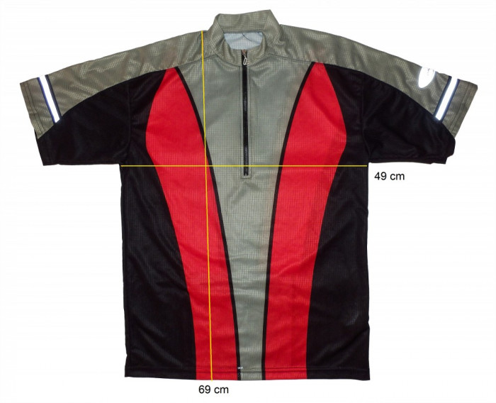 Tricou bicicleta ciclism LOFFLER original, tesatura respirabila (M) cod-169117 foto mare