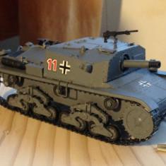 + Macheta asamblata si vopsita 1/35 - Tanc italian semovente 75/18 + - Macheta auto Zvezda