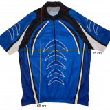 Tricou bicicleta ciclism CRANE tesatura fagure, stare f buna (XL) cod-171465 - Echipament Ciclism, Tricouri