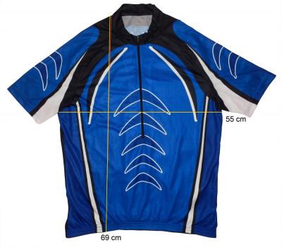 Tricou bicicleta ciclism CRANE  tesatura fagure, stare f buna (XL) cod-171465 foto