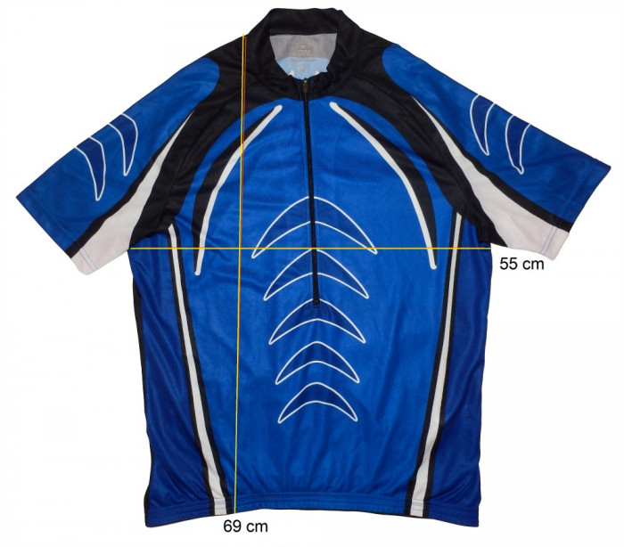 Tricou bicicleta ciclism CRANE  tesatura fagure, stare f buna (XL) cod-171465 foto mare