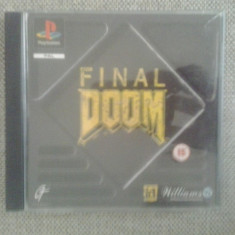 Final Doom - PS1 ( GameLand ), Shooting, 3+, Single player