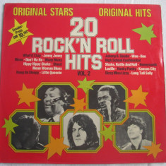 Various ‎– 20 Rock'n Roll Hits Vol. 2 _ vinyl(LP, compilatie) Germania - Muzica Rock & Roll Altele, VINIL
