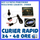 SET 2 x LUMINI LOGO LASER FORD GENERATIA 6 (12V, CAMION 24V) - LED CREE 7W, ZDM
