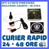 Cumpara ieftin SET 2 x LUMINI LOGO LASER SCANIA GENERATIA 6 (12V, CAMION 24V) - LED CREE 7W