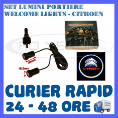 SET 2 x LUMINI LOGO LASER CITROEN GENERATIA 6 (12V, CAMION 24V) - LED CREE 7W