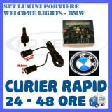 SET 2 x LUMINI LOGO LASER BMW GENERATIA 6 (12V, CAMION 24V) - LED CREE 7W