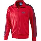 Jacheta sport Adidas  pentru barbati, L, Poliester, Rosu
