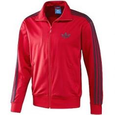 Jacheta sport Adidas pentru barbati - Jacheta barbati Adidas, Marime: L, Culoare: Rosu, Poliester