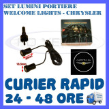 SET 2 x LUMINI LOGO LASER CHRYSLER GENERATIA 6 (12V, CAMION 24V) - LED CREE 7W