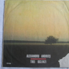 Alexandru Andrieș – Trei Oglinzi _ vinyl(LP, album) Romania - Muzica Blues electrecord, VINIL