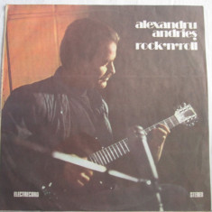 Alexandru Andrieș ‎– Rock'n'roll _ vinyl (LP, album) Romania - Muzica Blues electrecord, VINIL