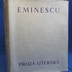 EMINESCU - PROZA LITERARA * ILUSTRATII TRAIAN BRADEAN - 1964 - 5180 EX.