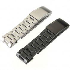 Bratara/curea metalica 22 mm. Moto 360 (varianta 2014) - Curea ceas din metal