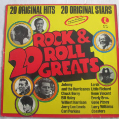 Various ‎– 20 Rock & Roll Greats _ vinyl(LP, compilatie)_ Elvetia - Muzica Rock & Roll Altele, VINIL