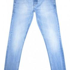 Blugi Conici JACK & JONES - (MARIME: 28 x 30) - Talie = 78 CM, Lungime = 98 CM - Blugi barbati Jack & Jones, Culoare: Albastru, Prespalat, Skinny, Normal