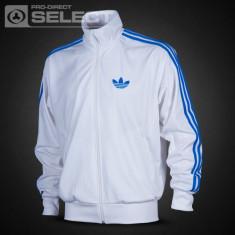 Jacheta sport Adidas pentru barbati - Jacheta barbati Adidas, Marime: L, Culoare: Alb, Poliester