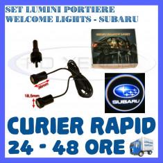 SET 2 x LUMINI LOGO LASER SUBARU GENERATIA 6 (12V, CAMION 24V) - LED CREE 7W