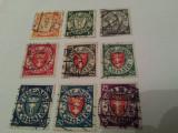 Cumpara ieftin germania/danzig 1923 blazoane / serie stampilata