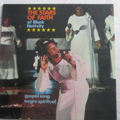 Various - The Stars Of Faith Of Black Nativity _ vinyl(LP) Elvetia - Muzica Religioasa Altele, VINIL