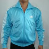 Jacheta sport Adidas  pentru barbati, L, Poliester, Albastru