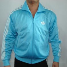 Jacheta sport Adidas pentru barbati - Jacheta barbati Adidas, Marime: L, Culoare: Albastru, Poliester