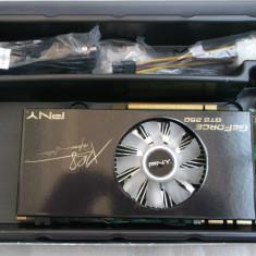 PNY GTS 250 Gaming 512 ddr3 / 256 bits XLR8 Dual Dvi Performance Edition Box - Placa video PC PNY, PCI Express, 512 MB, nVidia