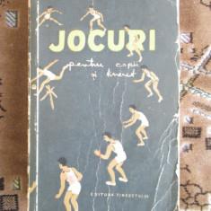 JOCURI PENTRU COPII SI TINERET - MUJICIOV / BRANGA (1956 - 478 pag.)