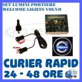 SET 2 x LUMINI LOGO LASER VOLVO GENERATIA 6 (12V, CAMION 24V) - LED CREE 7W