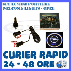 SET 2 x LUMINI LOGO LASER OPEL GENERATIA 6 (12V, CAMION 24V) - LED CREE 7W