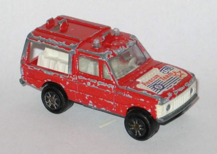 Majorette - Range Rover Rescue Team