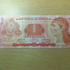 LL bancnota Honduras 1 lempira 2010 UNC - bancnota europa