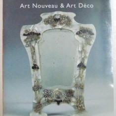 CATALOG DE LICITATIE, ART NOUVEANU & ART DECO, 7 OCTOBRE 1998 - Carte Istoria artei