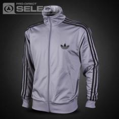 Jacheta sport Adidas pentru barbati - Jacheta barbati Adidas, Marime: L, Culoare: Gri, Poliester