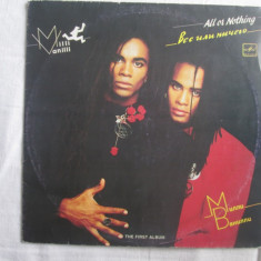 Milli Vanilli ‎– All Or Nothing _ vinyl (LP, album) Rusia - Muzica Hip Hop Altele, VINIL