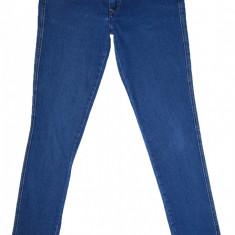 Blugi Conici H&M - (MARIME: 30)- Talie = 88 CM, Lungime = 101 CM - Blugi barbati H&M, Culoare: Albastru, Prespalat, Skinny, Normal