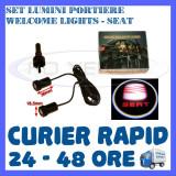 SET 2 x LUMINI LOGO LASER SEAT GENERATIA 6 (12V, CAMION 24V) - LED CREE 7W, ZDM
