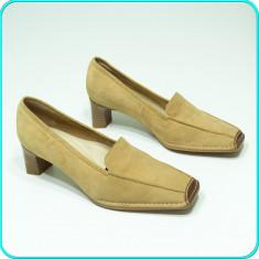 NOI, DE FIRMA → Pantofi dama, DIN PIELE, comozi, calitate ARA → femei | nr. 39 - Pantof dama Ara, Culoare: Din imagine, Piele naturala, Cu talpa joasa