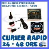 Cumpara ieftin SET 2 x LUMINI LOGO LASER AUDI GENERATIA 6 (12V, CAMION 24V) - LED CREE 7W