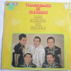 Luis Alberto del Parana y Los Paraguayos – Troubadours Of Paraguay _ vinyl(LP) - Muzica Latino Altele, VINIL