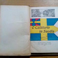 O CALATORIE IN SUEDIA - Stelian Popescu - 1924 * IERUSALISM - V. Mestugean, 1914 - Carte veche