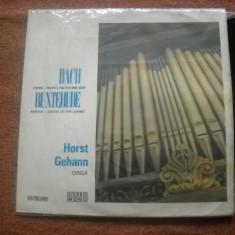 Horst Gehann Orgă, Bach, Buxtehude : Recital De Orgă (vinil clasica) - Muzica Clasica electrecord