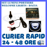 Cumpara ieftin SET 2 x LUMINI LOGO LASER DACIA GENERATIA 6 (12V, CAMION 24V) - LED CREE 7W