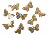 Confeti fluturi, Auriu