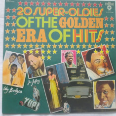 Various ‎– 20 Super-Oldies Of The Golden Era Of Hits _ vinyl(LP) Germania - Muzica Rock & Roll Altele, VINIL